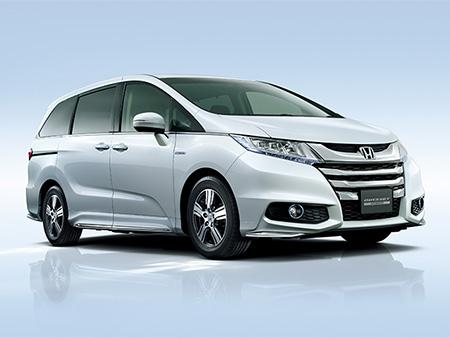 "Honda เปิดตัวรถมินิแวนระดับไฮเอนด์รุ่นใหม่ ""ODYSSEY HYBRID"" บนเว็บไซต์"