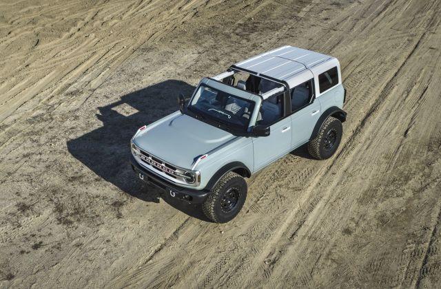2021 Ford Bronco : SUV ที่ดูดีที่สุดในปี 2021