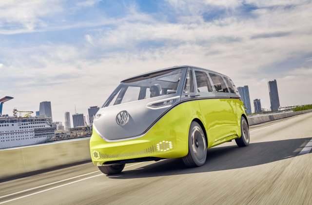 Volkswagen I.D. Buzz : รถยนต์แห่งอนาคต