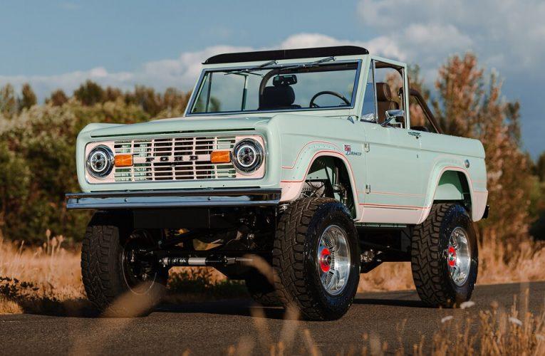 Ford Bronco รุ่นแรกที่ไม่มีเครื่องยนต์ในราคา $380,000