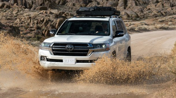Land Cruiser ของ Toyota ถูกระงับหลังปี 2021