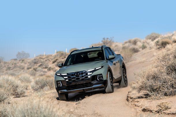 2022 Hyundai Santa Cruz เผยโฉมตัวเอง