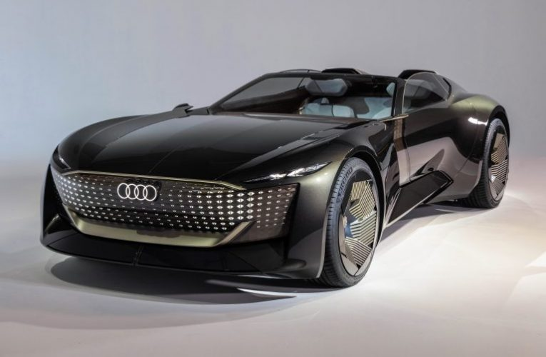 Audi Skysphere Concept พรีวิวรถยนต์พลิกโฉม