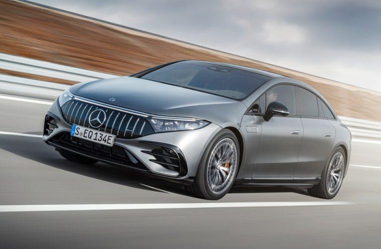 Mercedes-AMG EQS 2022 โฉมแรก: AMG ก้าวสู่ EV