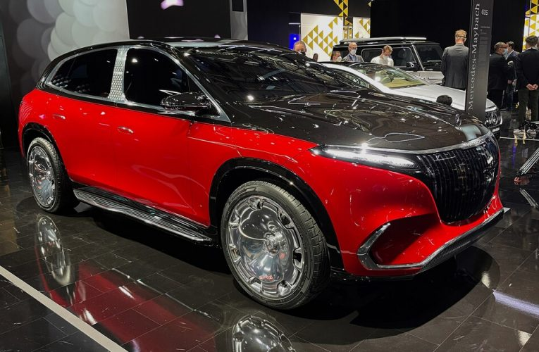 Concept Mercedes-Maybach EQS SUV รูปลักษณ์แรก: Opulence Writ Large