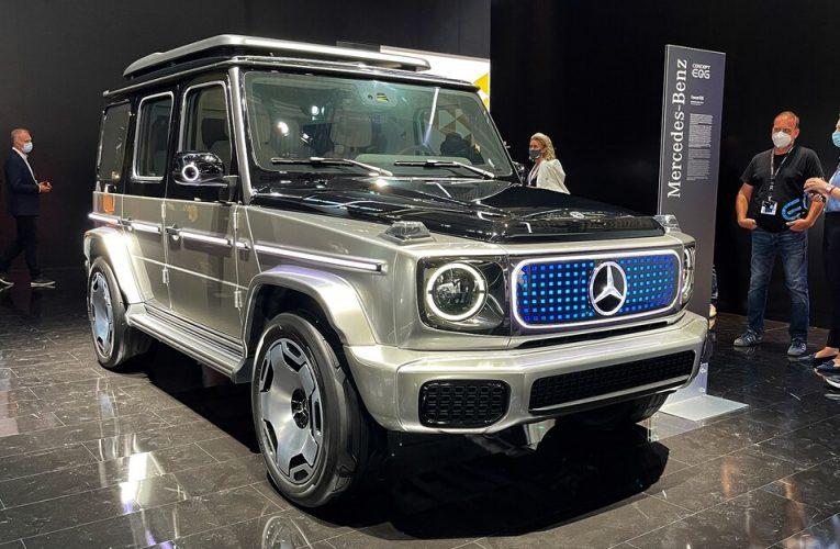 Mercedes-Benz Concept EQG โฉมแรก: The G Goes EV