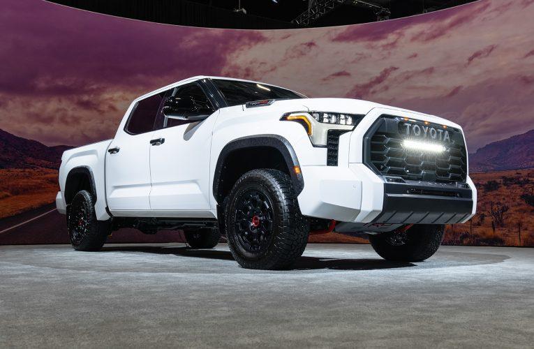โฉมแรก Toyota Tundra 2022: ทันสมัยและปรับปรุงใหม่