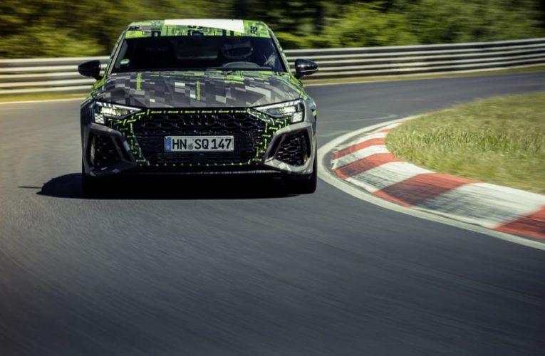 ชม 2022 Audi RS 3 ครองตำแหน่งราชาแห่งสนามนูร์เบิร์กริง