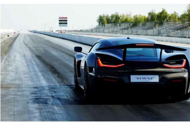 Rimac Nevera อ้างว่าเป็นรถที่ผลิตได้เร็วที่สุดด้วยเวลาสี่ไมล์ใหม่