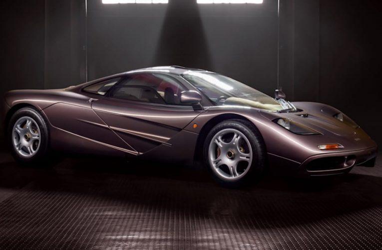 UPDATE: 1995 McLaren F1 ด้วยระยะทางเพียง 242 ไมล์ที่กำหนดราคาประมูลเป็นประวัติการณ์