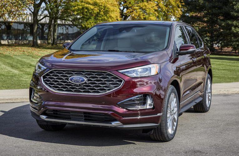 มีข่าวลือว่า Ford Edge ปี 2022 จะใช้ AWD เท่านั้น