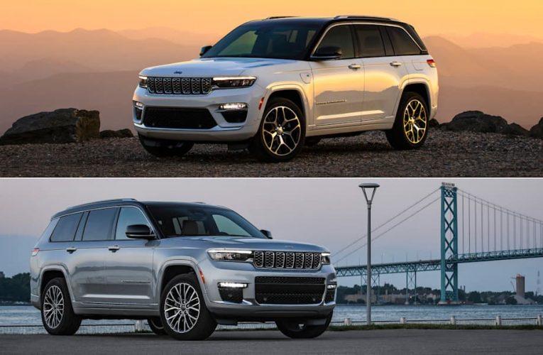 2022 Jeep Grand Cherokee กับ Grand Cherokee L: อะไรคือความแตกต่าง?